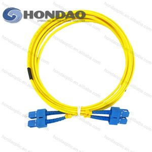 Hondao 12cores SM fiber optic cable SC/LC -SC/LC Connectors Duplex OM3 PVC Fiber breakout patchcord
