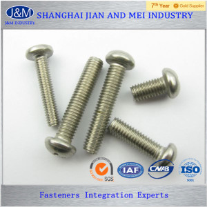 mushroom head rubber machine screws