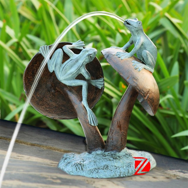 Frog Statue Fountain, Frog Statue Fountain Suppliers And Manufacturers At  Alibaba.com