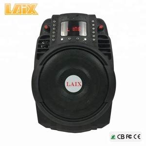 OEM Rechargeable outdoor water proof 6 inch pa system active speaker box