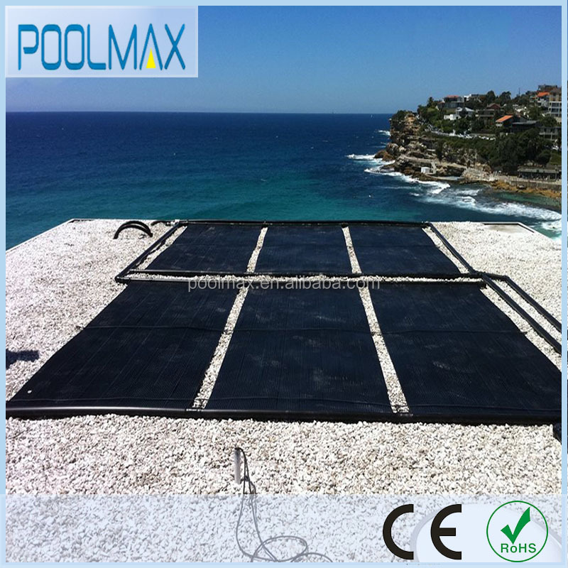 Swimming pool heater solar with vacuum tube heat pipe