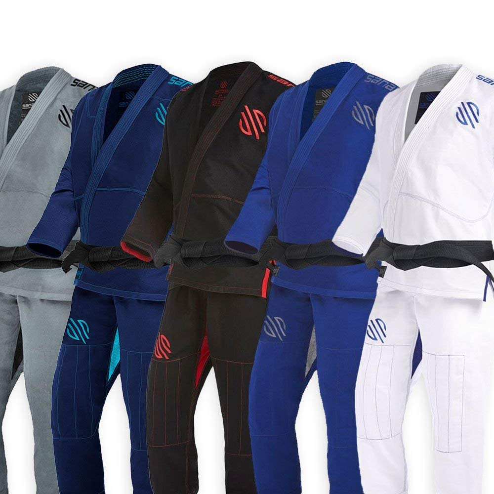 Sanabul Essentials v.2 Ultra Light BJJ Jiu Jitsu Gi with Preshrunk Fabric (See Special Sizing Guide)
