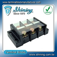 TB-200 Panel Mounted Barrier Type 600V 200A Electric Terminal Block