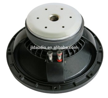 High-end Professional 15 inch(385mm) PA Speaker driver with aluminum frame RMS 600W Single Magnet