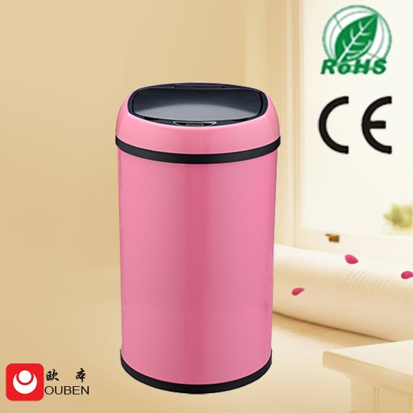 Stainless Steel Automatic Sensor Garbage Can / Bin 12L