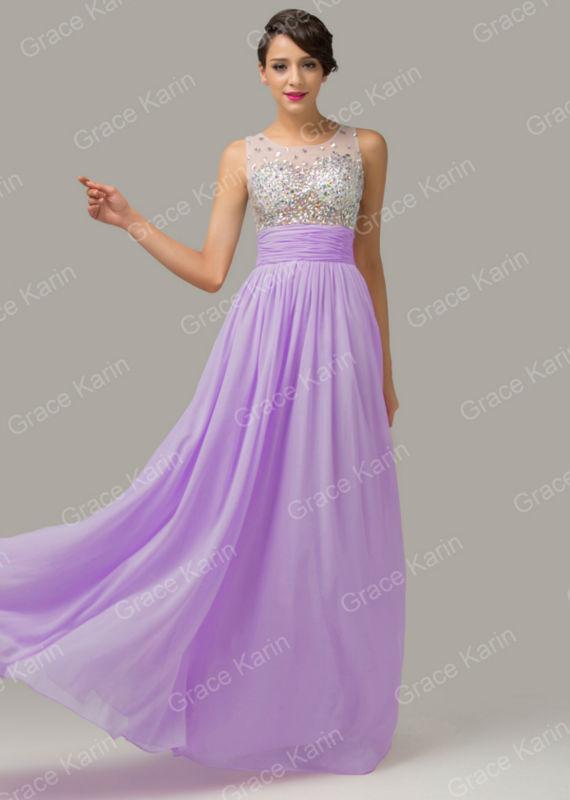 b3e955c3249d5a Grace Karin Purple Prom Dresses – Fashion dresses