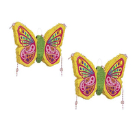 Best Selling Wholesale Birthday Party Decoration Butterfly Foldable Paper Pinata for Kids