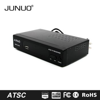 JUNUO china factory 2016 OEM new quality full hd strong tuner mstar Mexico tv decoder set top box ATSC