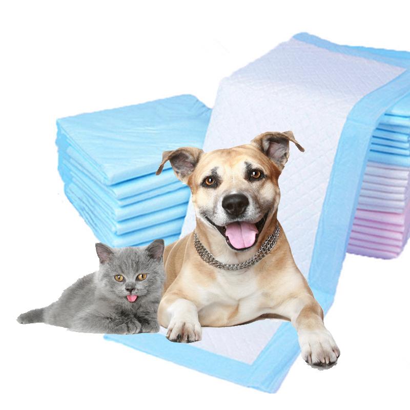 थोक पालतू कुत्तों बिल्लियों के लिए पेशाब प्रशिक्षण और पिल्ला पैड छोटे पशु
