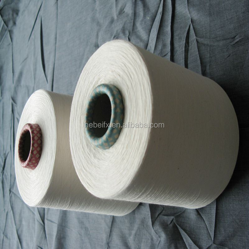 open end recycle cotton blended yarn qulaity like turkmenistan cotton yarn india
