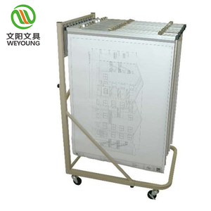 Office Powder coated movable telescopic easel