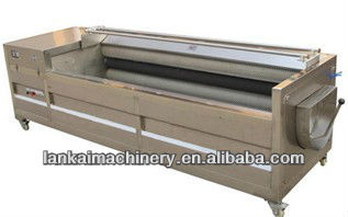 Good quality ! Potato / Vegetable peeling machine Fruit washing and peeling machine Ginger peeler Ginger peeling machine