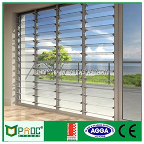 High Quality Arched Fix Glass Window with Grid PNOC101915LS
