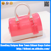Hot Selling PVC Womenl Colorful Jelly Candy Color Handbag Shoulder Bag