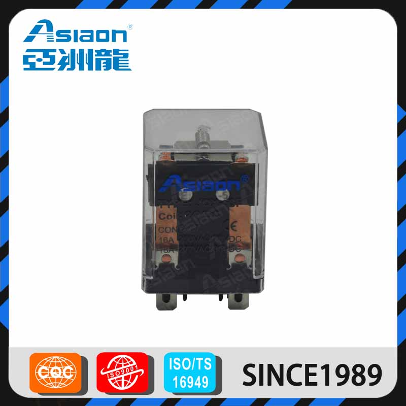 ASIAON Wenzhou Supplier Online Shopping Overcurrent 24c 48v dc OverCurrent Power Relay JQX-53F
