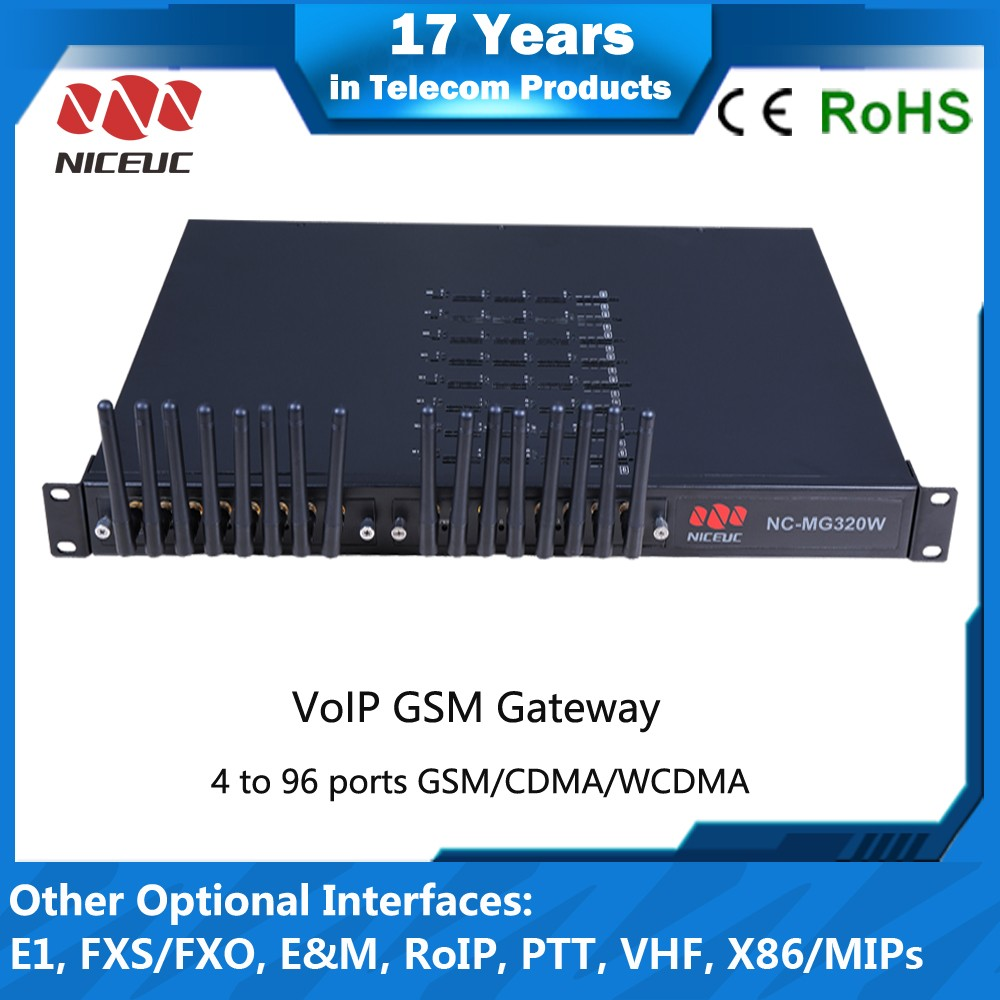 Low cost 16 port gsm sim box voip gateway 32 channels gsm gateway support imsi catcher avoid sim card blocking