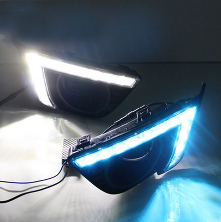 Hot selling LED drl for Honda Jazz Daytime Running Light for honda jazz