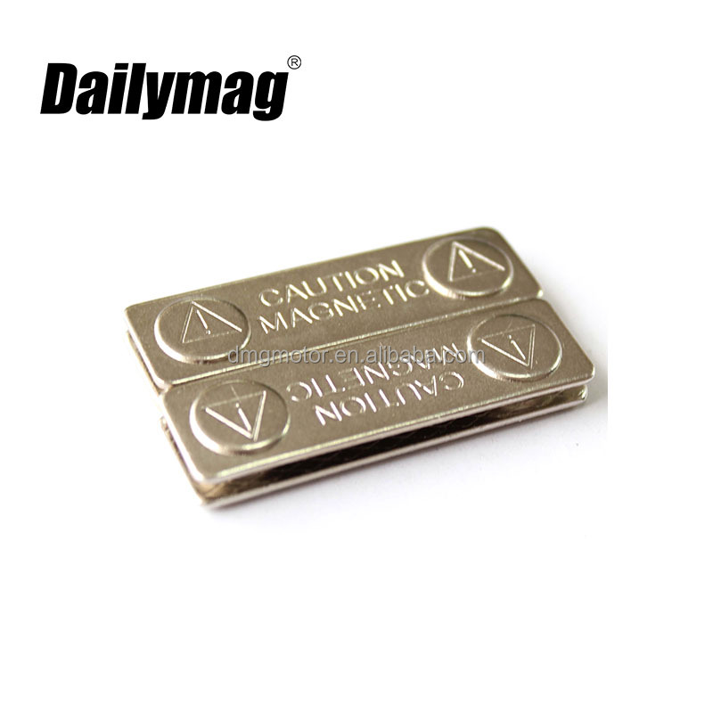 High Quality Metal Magnetic Lapel Pin Name Badge Holder