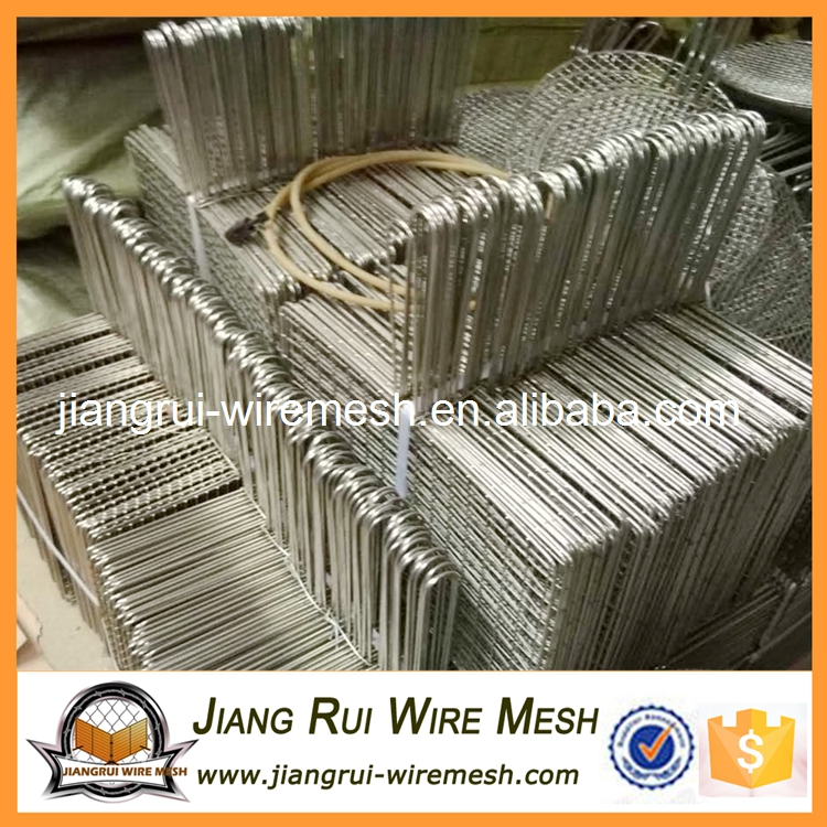 Stainless steel barbecue bbq grill wire <strong>mesh</strong> net / bbq grill grates wire <strong>mesh</strong> (factory)