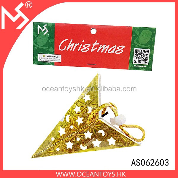 Christmas tree decoration paper star pendant christmas ornaments