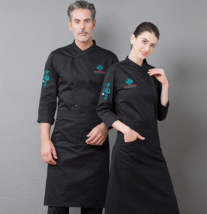 Custom hotel staff uniform restaurant waiter waitress uniform /hotel front desk uniforms