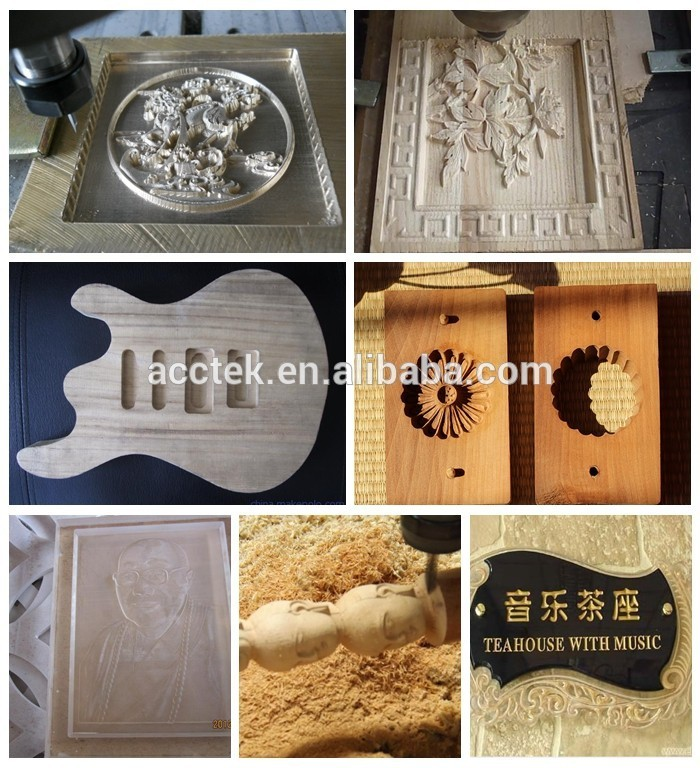 Water cooling spindle T-slot table cnc wood engraving router 1530 for wood plastic acrylic aluminium