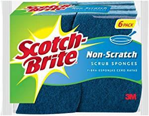 Scotch-brite® 526 Non-scratch Multi-purpose Scrub Sponge, 6-pack