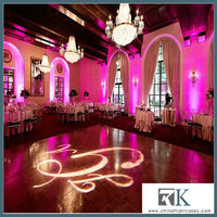 2013 RK-easy-installed wedding backdrop design with curtain rod and curtain
