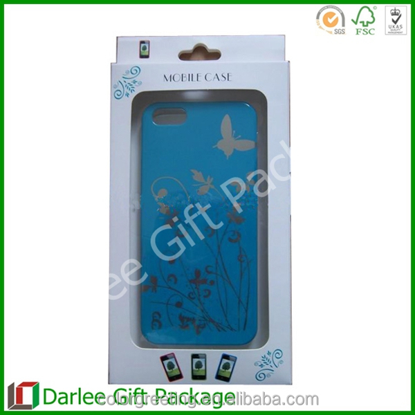 iphone packaging box plastic packaging box for phone case paper packaging box