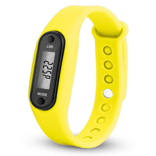 Tragbare walking jogging lauf entfernung digitale fitness tracker uhr