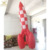 Opknoping opblaasbare rocket model ballon, opblaasbare blow up ballon
