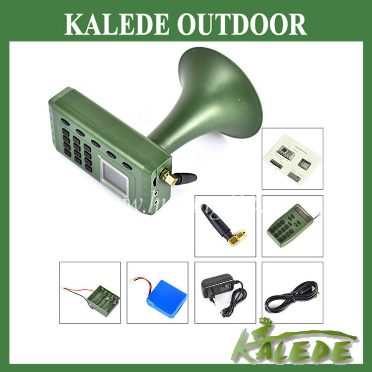 Best selling quail sounds mp3 digital bird caller built-in speaker with remote cp-380 goose decoy