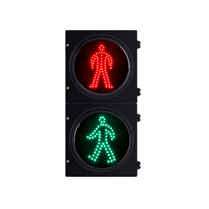 300mm led pedestrian crossing traffic light with countdown timer
