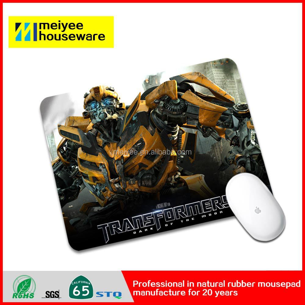 Meiyee eco freindly cloth gaming mousepad REACH certificate