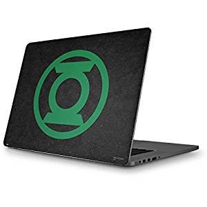 DC Comics Green Lantern MacBook Pro 15 (2012-15 Retina Display) Skin - Green Lantern Logo Black Vinyl Decal Skin For Your MacBook Pro 15 (2012-15 Retina Display)