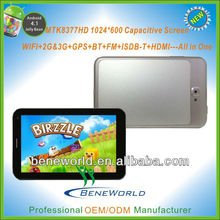 new MTK8377 tablet 3g / metal tooling