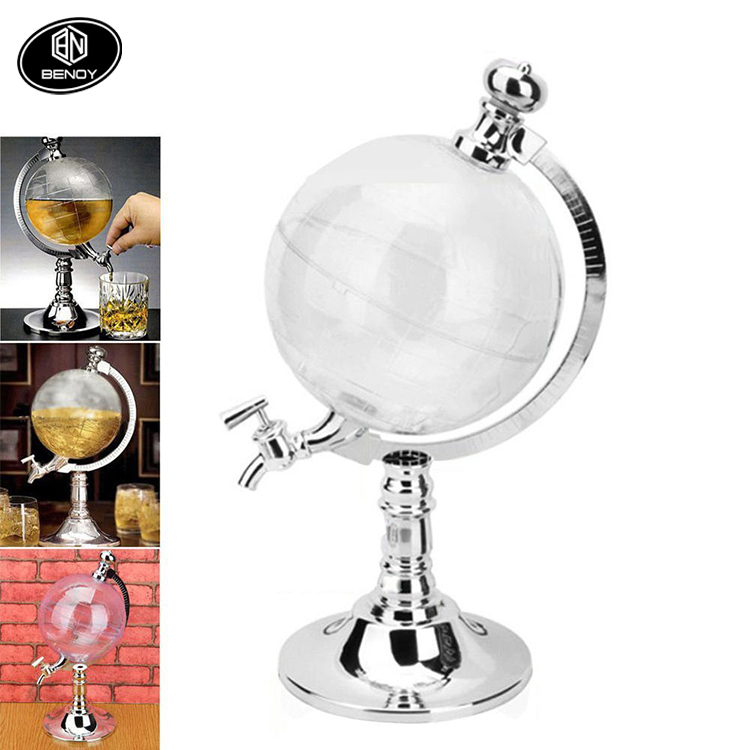 Popular Globe Shaped Beverage Liquor beer Dispenser Machine for BAR KTV OR Party Use