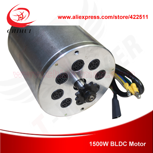 1500w 48v Brushless Dc Motor Foldable 1500w Electric