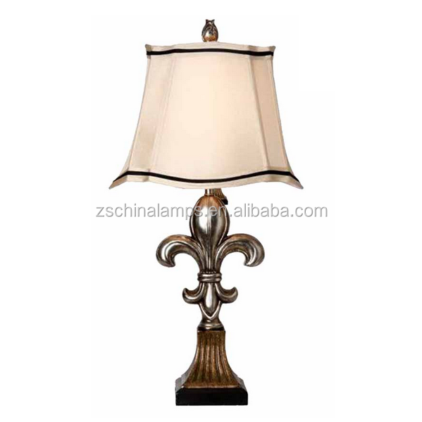 Norway Pineapple Antique Style Table Lamp With Round Lamp Shade ...
