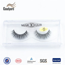 Custom Faux Real Mink Eye Lashes Private Label False Eyelashes With Own Logo Strip Lash Box