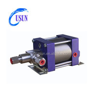USUN brand Model: UL100 100:1 pressure ratio 800 Bar output Small High pressure Maximator Pneumatic driven liquid pump