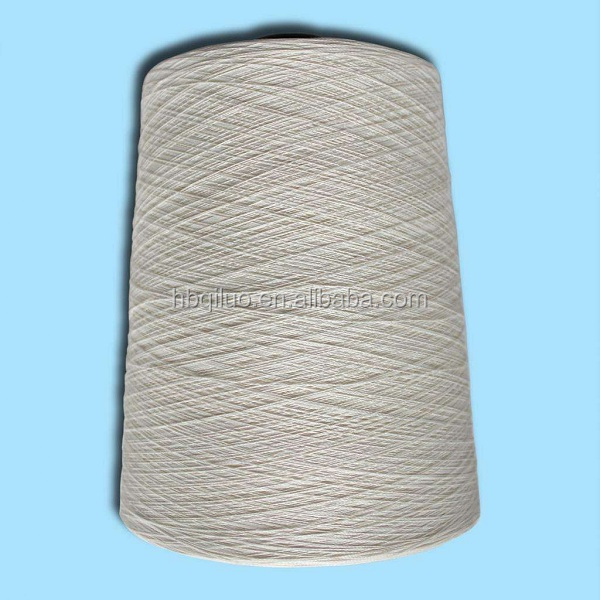 Pakistan Market LC Payment China Free Samples Staple Fiber 30s, 40s, 50s Raw White Ring Spun or Vortex MVS Viscose Open End Yarn