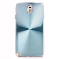 CD pattern phone case aluminum sticker phone shell PC bottom bask cover for Samsung note3