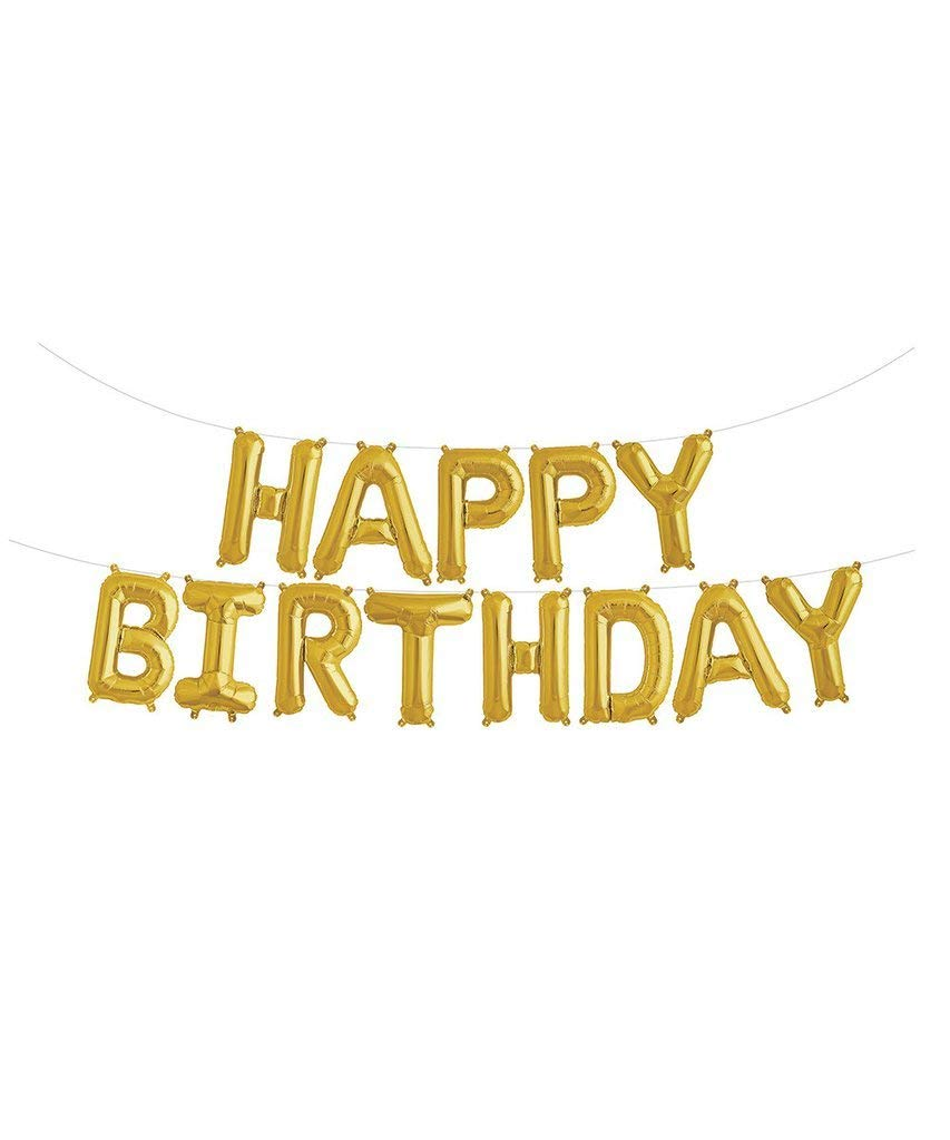 get quotations gold party decorations happy birthday banner gold birthday decorations for adults happy birthday