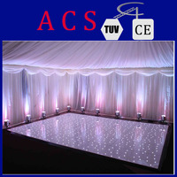 New design professional dancing floor/wedding party led dance floor/RGB colorful change lights LED dance floor