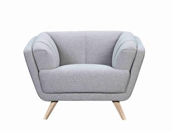 Style Living Room Single Seat Fabric