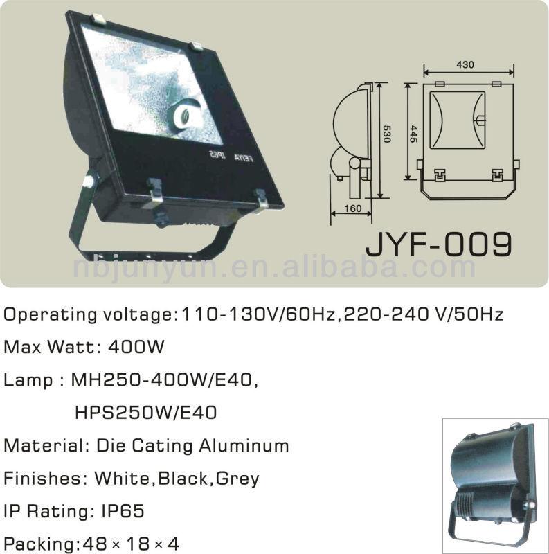 250-400w Hpsv Outdoor Flood Light Luminaire