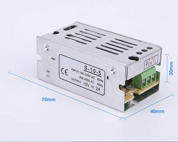 Ultra-thin industrial grade 10W 5V 2A switching power supply