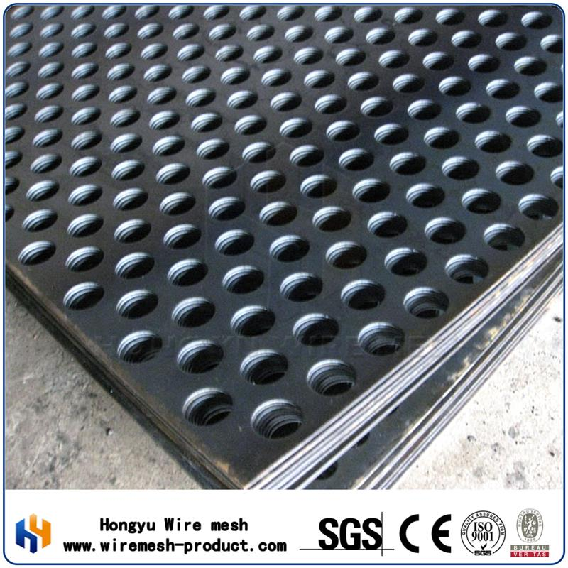 hole punch for metal perforated panel hexagonal speaker grill