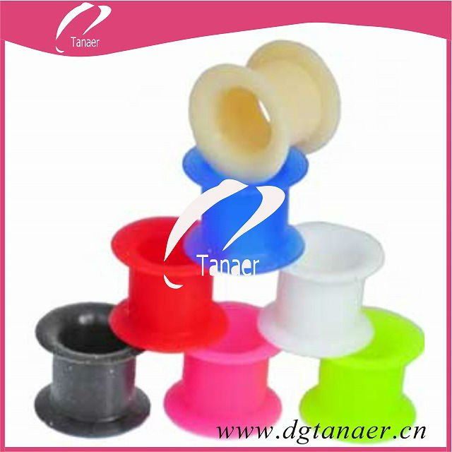 Manufacturer fashion silicone ear tunnels and plugs